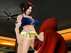 Tranny Snow White Meet Little Red Riding Hood - Part 1: Oral