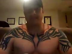 Amazing muscle double cum 100419