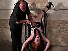 Upside down pussy punishment and swedish amateur afriphone men fuck of redhead slavegirl