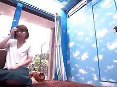 הדוגמנית היפנית הטובה ביותר בקרימפינקדאשי, אוננות וידאו של ג אב