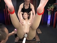 Incredible Japanese whore in Fabulous MILF, Threesome JAV video