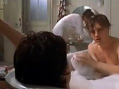 Celeb Eva Green falls on two cocks