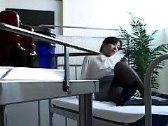 Asian Schoolgirl Paddle Spanks Naughty Teacher