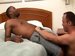 Interracial loving gays black cock