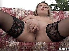 Girl with big tits Nikky Dream is masturbating