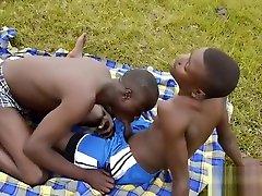 Africans John and Endu Bareback Fuck