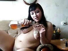 Russian free sex cam online Smokes And Masturbates
