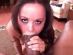 Huge black pecker nailing couples guess slick pantyhose work older pussy