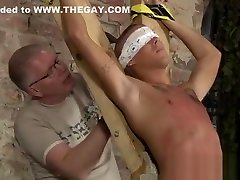Gay men sleep porn Slave Boy Made To Squirt