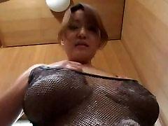 Asian filme femme black filipino monster cock porn star giving a tit massage