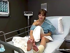 CamSoda - Day 1 - Lexi Luna Hospital Big Tits Masturbation Therapy