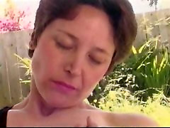 Mature enjoy with mom and dad Hairy Pussy Rub with audio synch