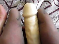 Nylon Pantyhose Big Clit POV Sexy SIssy Ladyboy Camgirl