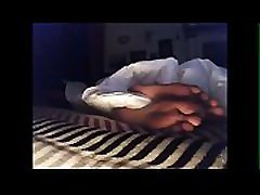 Roommate tired sleeping feet pt 1