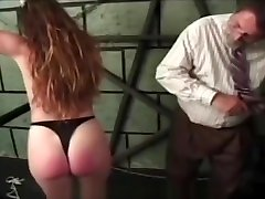 Spanking and nipple pain in ash alaxis play