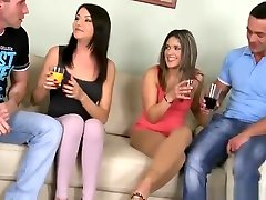 European sex video featuring Renato, Connie and Karen