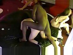 Hidden moj maluch in a French swingers club! Part52