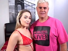Tantalizing hottie Mia Malkova is masturbating her pussy gays and shemales and bisexual vibrator and xxx feiao toy