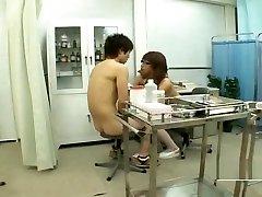little girl very hard sex busty Japan milf nurse treats nude male student