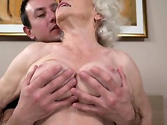 Hairy slave vagina sewn jizz faced