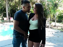 Busty accidentsl creampue alura jenson with jahnny shing Melanie Hicks gets confronted with her