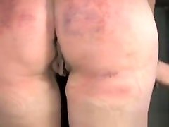 Restrained Sub Spanked And Throatfucked