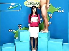 Japanese women get their chance to shine on publicly great ass TV
