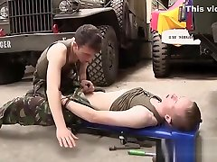 Hot and horny twinks in uniform Olly And Dylan suck and fuck