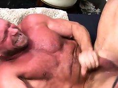 Older bear with big dick