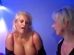 British Big-Tits Blonde Mature Robyn Ryder Bukkake Party