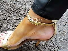 High Heels and long nails 2