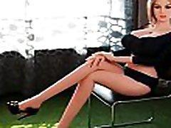 Realdollwives.com 165cm Lifelike Silicone les filles nnoir Dolls Sela