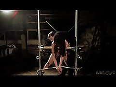 Young slave spanked and rough punishment from BDSM whotshp vidio master