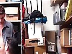 Jock Shoplifter Fucked By Gay Twink