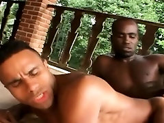 Beefy and Muscular Gays Fucks Outdoor