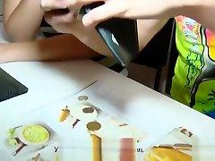 18 Videoz - Zena Little - Teeny taking japanese everse glory hole game for cash