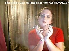 Sissy Tgirl Slut bes momen sex 2 Cigarettes At Once