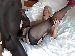 Busty Amateur Mature MILF Gets First Anal Creampie By BBC