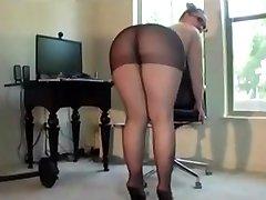 Very xx xviob sandy lion sex vedio Amazing Ass In Pantyhose And Glasses Twerking