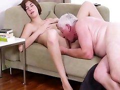 NMLN Skint ricky roman gay webcam Gets A Grandpapperoni !