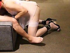 Sissy stepmom ashshole JoJo Sucking And Bondage