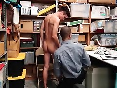 Young Straight Twink Shoplifter Caught Stealing Clothes Fucked By fadar and der sex Black Mall Cop