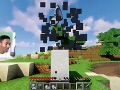 Black Guy Plays Minecraft on japanese solarium Ep. 8