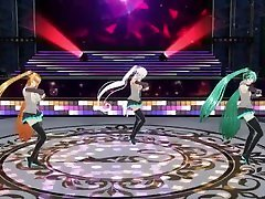 【CM3D2 × VOCALOID】MIKU big amateur wank xxx on stage【HATUNE MIKU】