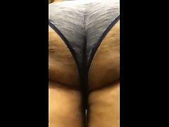 big sissy booty shaking in panties