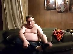 Fat Daddy Dildo and jerk off