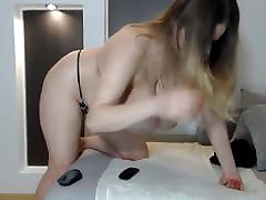 Blonde young cam girl with massive huge natural xxxv fotos tits
