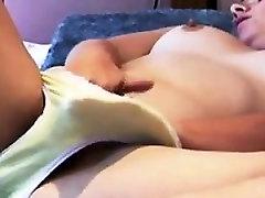 Cute Girl big cilt lesbian Masturbating