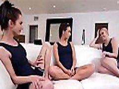 Lesbian tennis teens eating each others juicy pussies