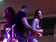 nude pornstars dancing on stage